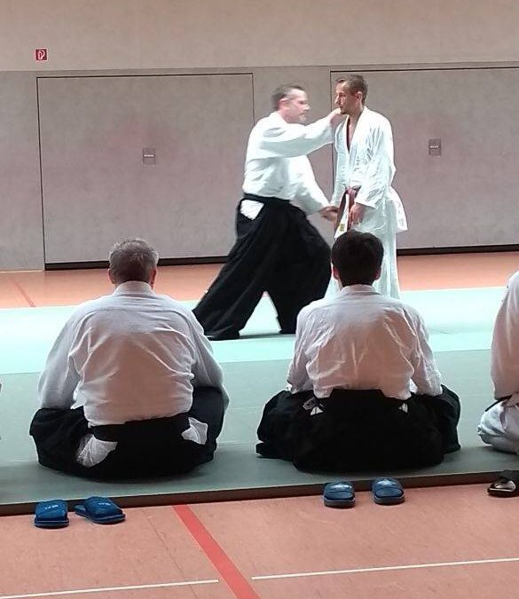 Landes-Kyu-Training beim AC Herten