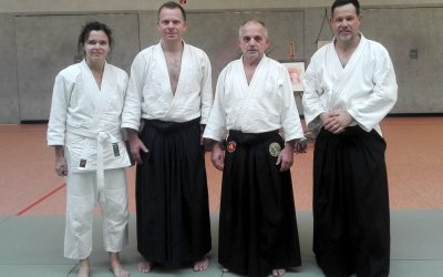Unsere Aikidoka bei Karl Köppel