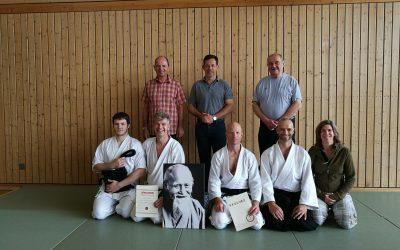 1. Dan Aikido für Tony Gölitzer