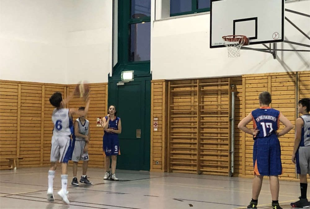 Lohmar Lions U14: Deutliche Niederlage gegen Neunkirchen