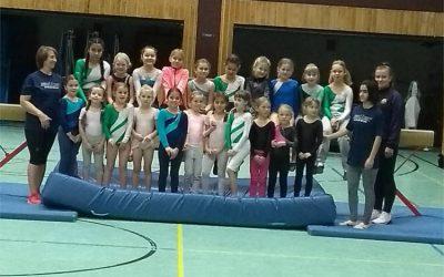 Vereinsmeisterschaften Turnen der Mädchen Jahrgänge 2005 bis 2013