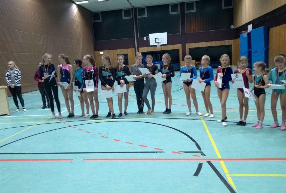 Vereinsmeisterschaften Turnen Teil 2 Mädchen Jahrgang 2001 bis 2011