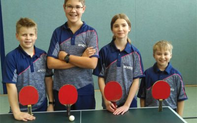Tischtennis-Mannschaften mit gutem Start nach der Winterpause