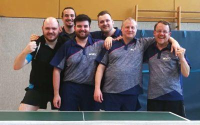 Tischtennis-Herren Vizemeister