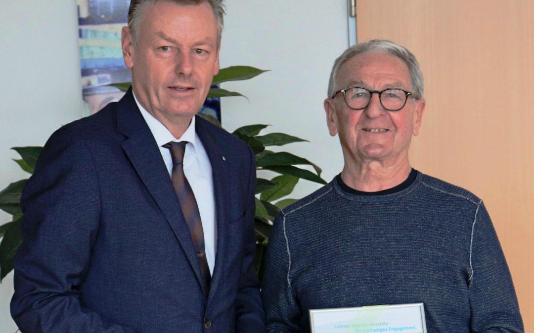 Ehrenamt des Monats März: Wolfgang Richter