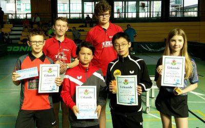 Bundesoffenes Tischtennis-Turnier des TV 08 Lohmar e. V. mit starker Beteiligung