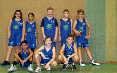 Trainingsauftakt der Basketballjugend
