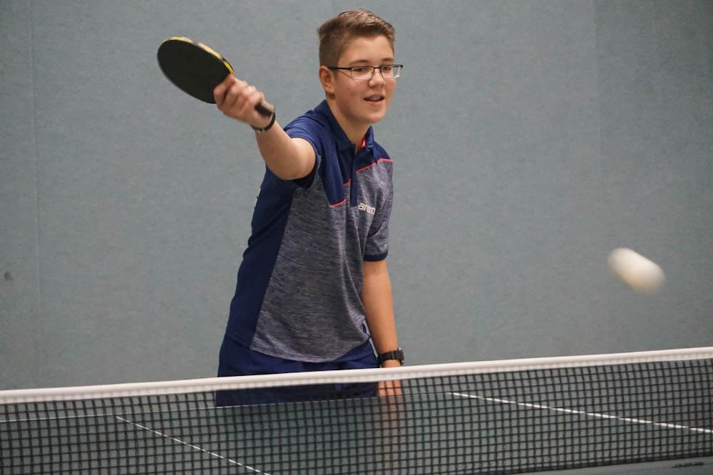 Tischtennis-Nachwuchs des TV 08 Lohmar e. V. erfolgreich