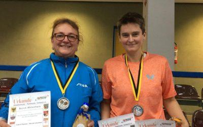 Tischtennis Bezirksmeisterschaften TV 08 Lohmar e. V. drei Mal auf dem Treppchen…