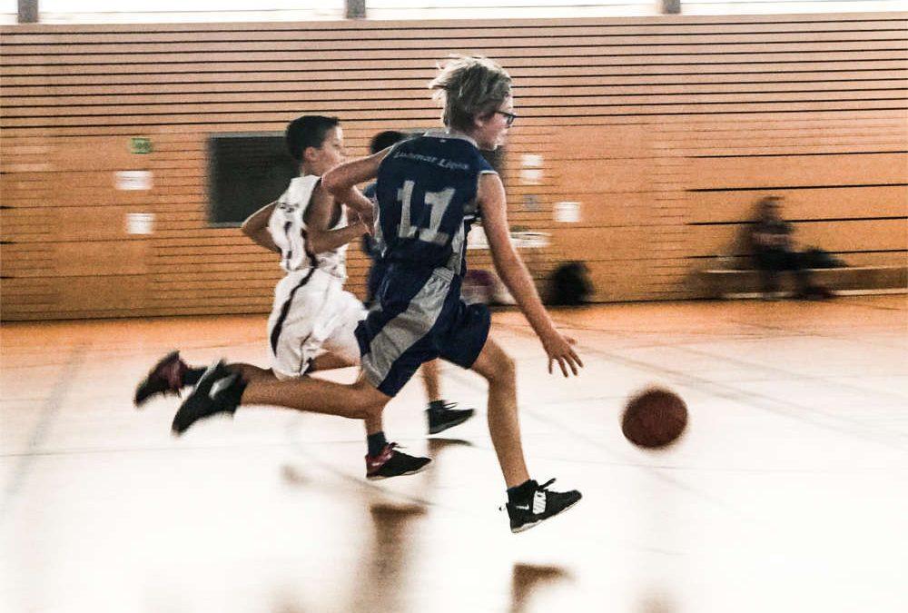 Lohmar Lions U12: Mit viel Kampfgeist gegen die BG Bonn