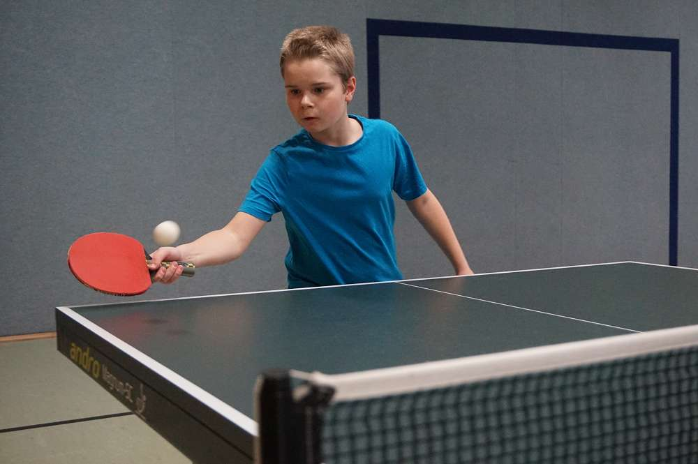 Tischtennis-Minis des TV 08 Lohmar mit guten Leistungen