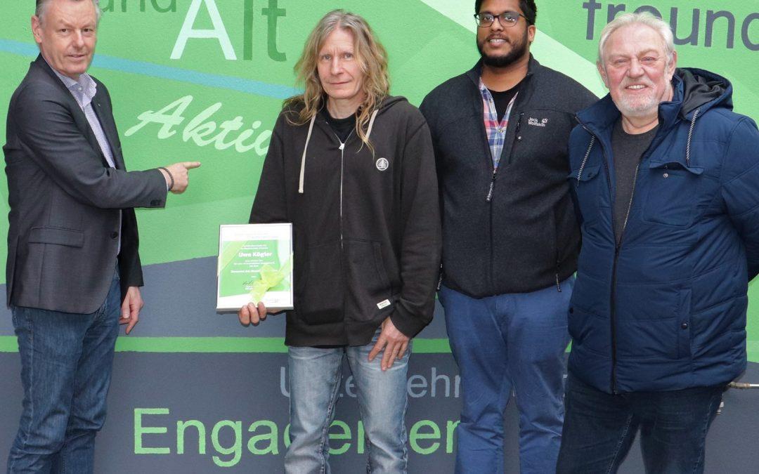 Ehrenamt des Monats März: Uwe Kögler