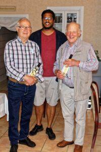 Neue Ehrenmitglieder H. Frilingsdorf und K. Ames