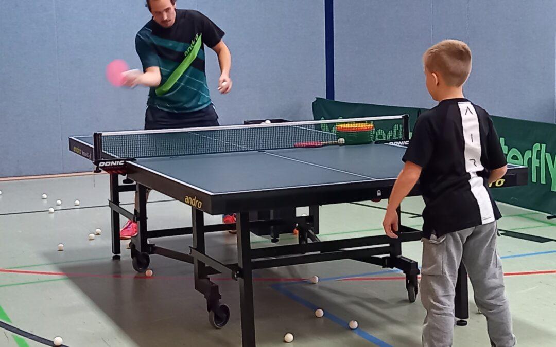 Tischtennis für Kinder und Jugendliche beim TV 08 Lohmar